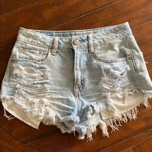 American eagle jeans shorts